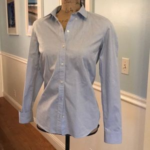 Baby Blue Gap long sleeve top size Small